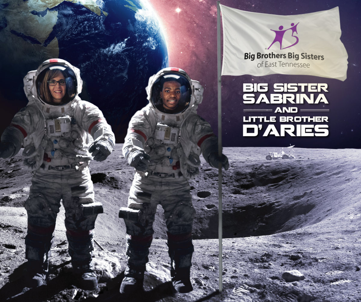 Out-of-this-world match: Big Sister Sabrina and Little Brother De'Aries