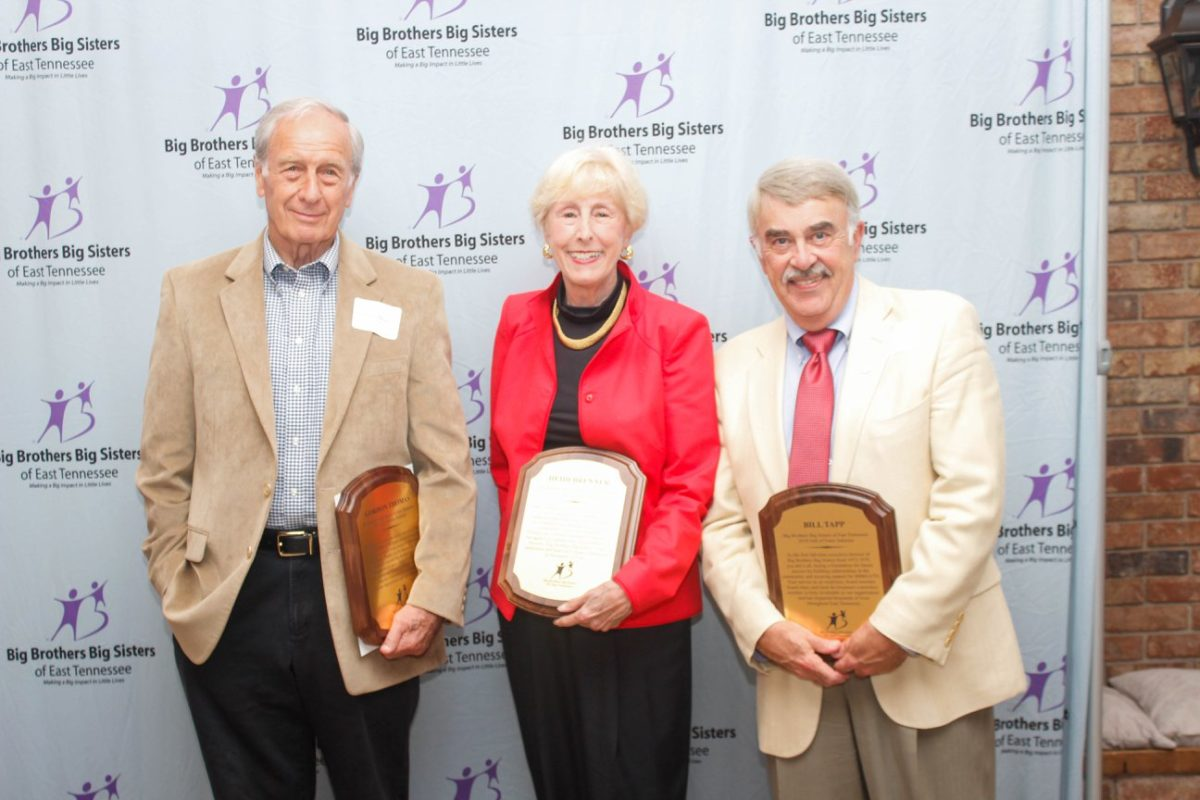 BIG BROTHERS BIG SISTERS OF EAST TENNESSEE WELCOMES THREE MEMBERS INTO HALL OF FAME